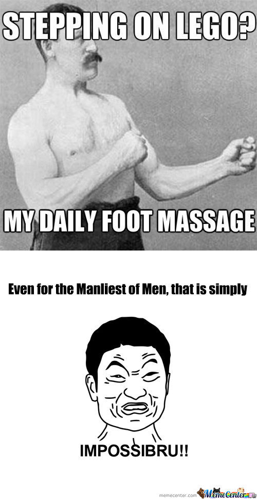 [RMX] Overly Manly Man