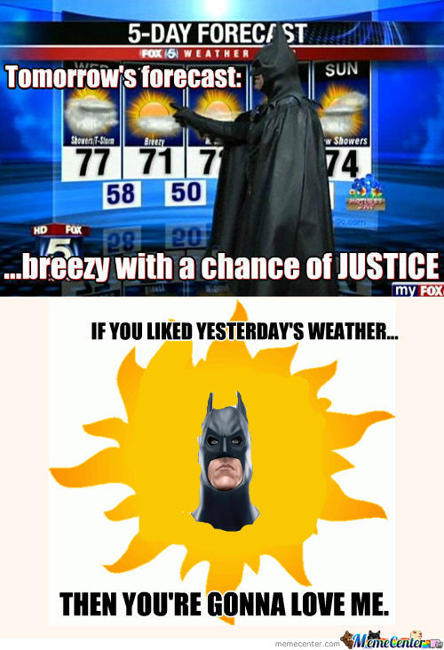 [RMX] Partly Cloudy With A Chance Of Fighting Crime