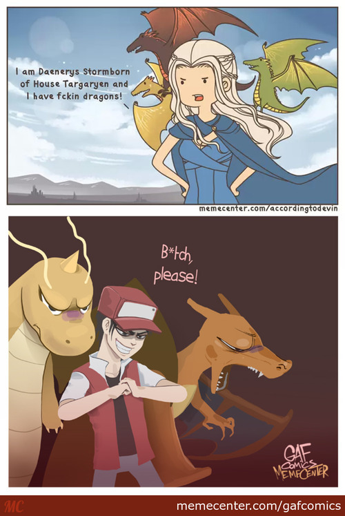 [Rmx] People With Dragons (I Know That  Charizard Is Not A Dragon Type But Still...)