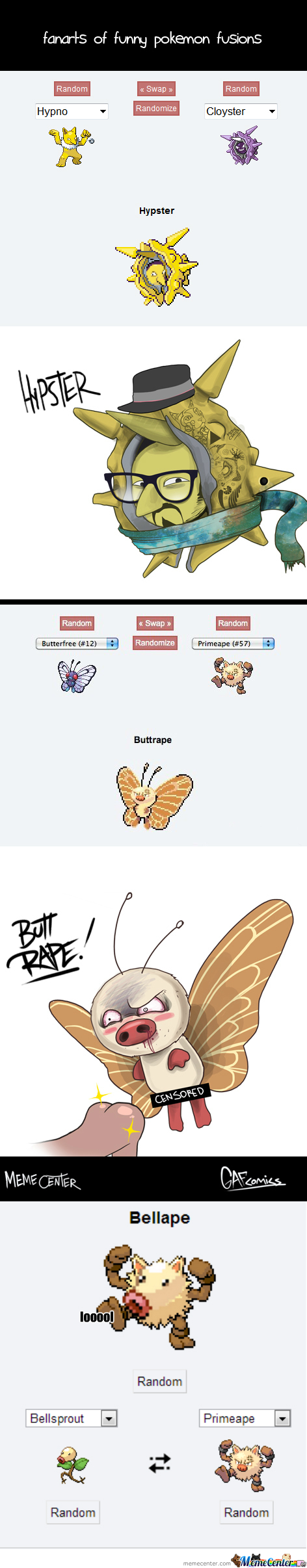 [RMX] Pokemon Fusion!