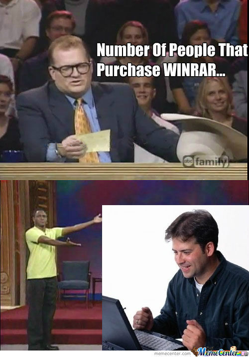 [RMX] Purchase Winrar? How About No