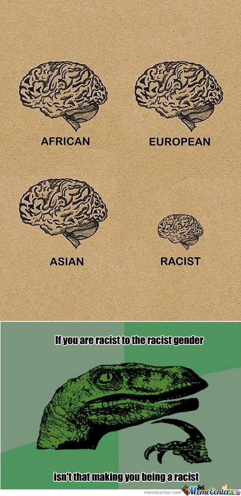 [RMX] Racism illustrated.