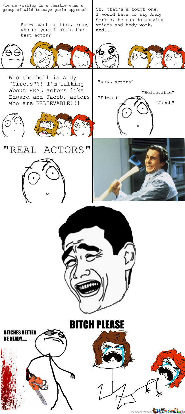 [RMX] Real Actor....