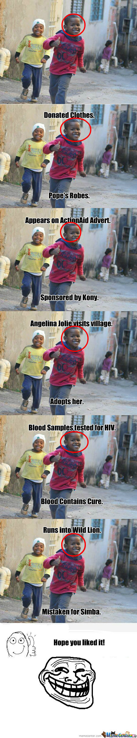 [RMX] Ridiculously Photogenic Third World Child