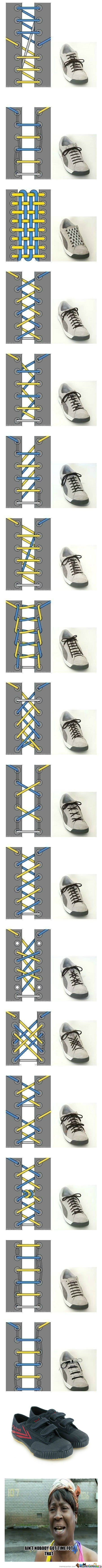 [RMX] [RMX] Cool Ways To Tie Your Shoes