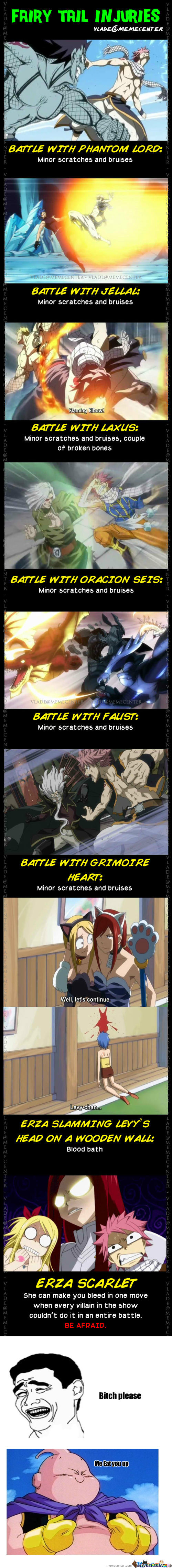 [RMX] [RMX] Fairy Tail Injuries