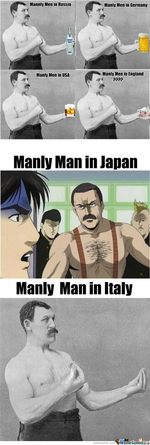 [RMX] [RMX] Manly Men Around The World