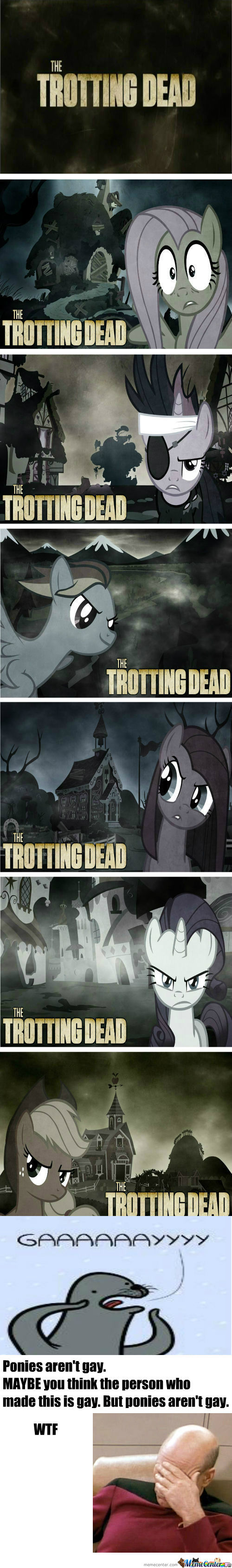 [RMX] [RMX] New Grimdark Ponies: The Trotting Dead