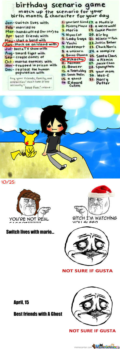 [RMX] [RMX] [RMX] Stuck On An Island With Pikachu? 030