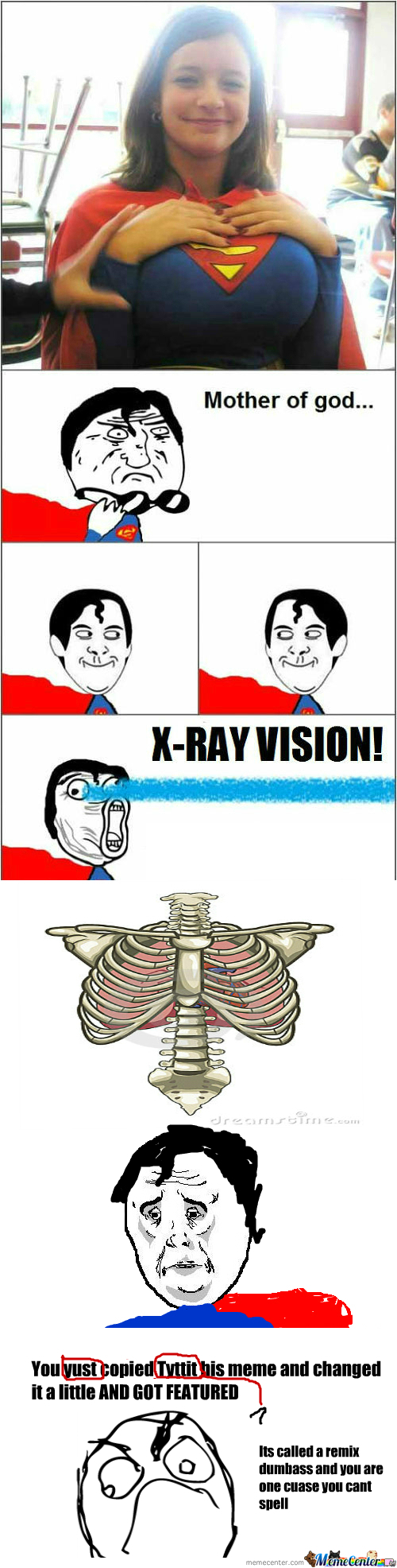 [RMX] [RMX] [RMX] Super Loves His X-Ray Vision