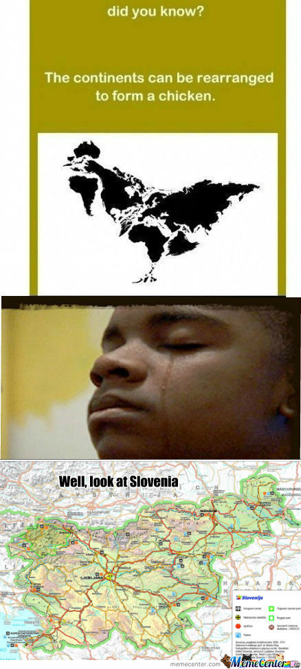 [RMX] [RMX] [RMX] The continents can be rearranged to form a chicken Remixed