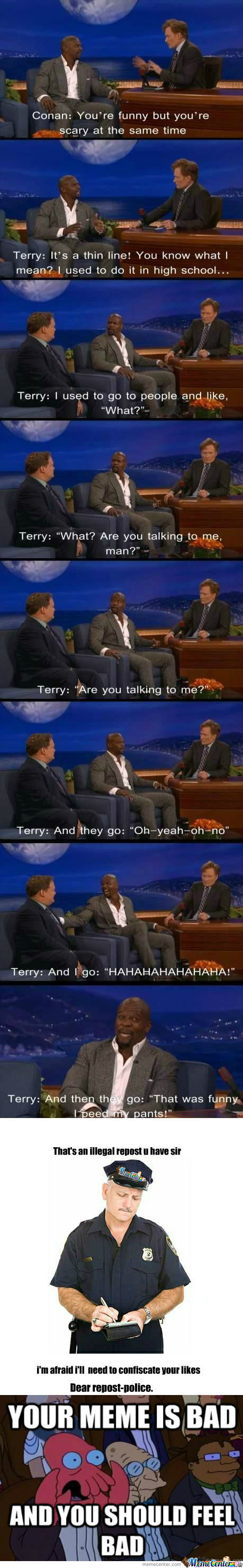 [RMX] [RMX] Terry Crews Being Terry Crews