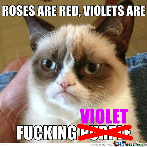 [RMX] Roses Are Red, Violets Are..