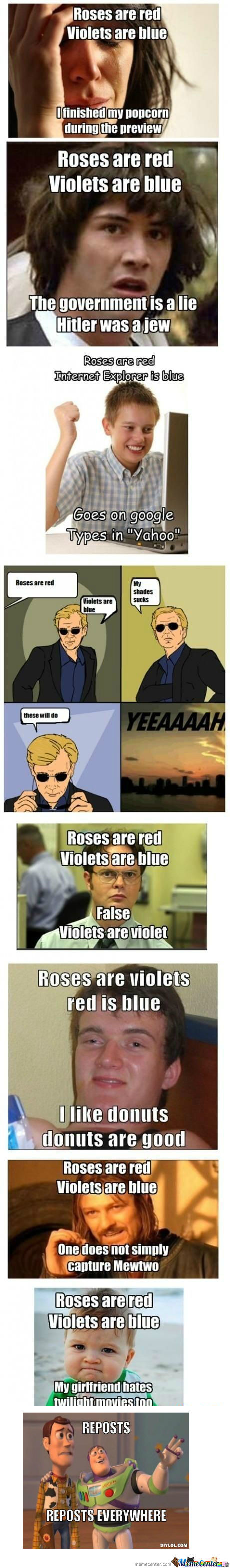 [RMX] Roses Are Red...