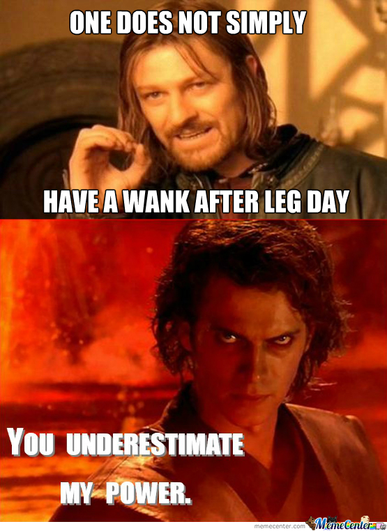 [RMX] Sean Bean Leg Day Wank