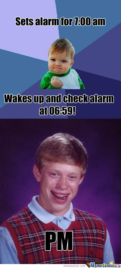 [RMX] Sets Alarm For 7:00Am