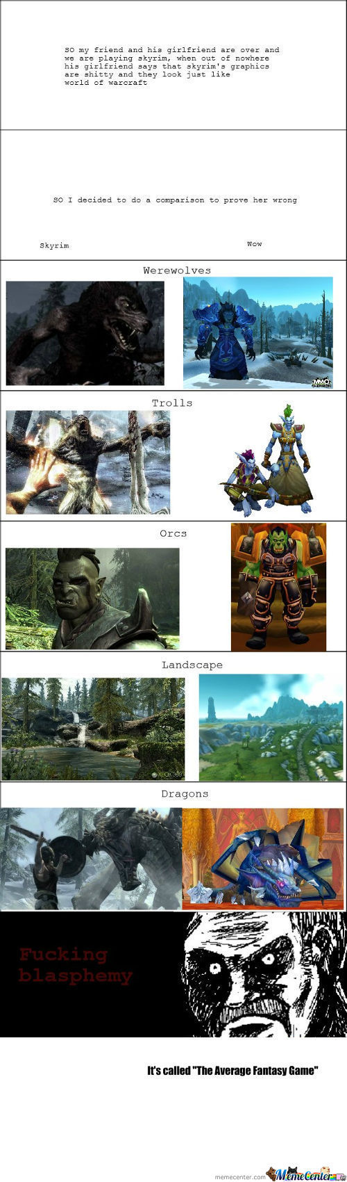 [RMX] Skyrim Vs Wow