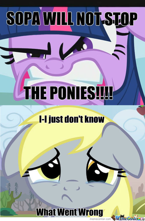[RMX] SOPA will not stop the ponies