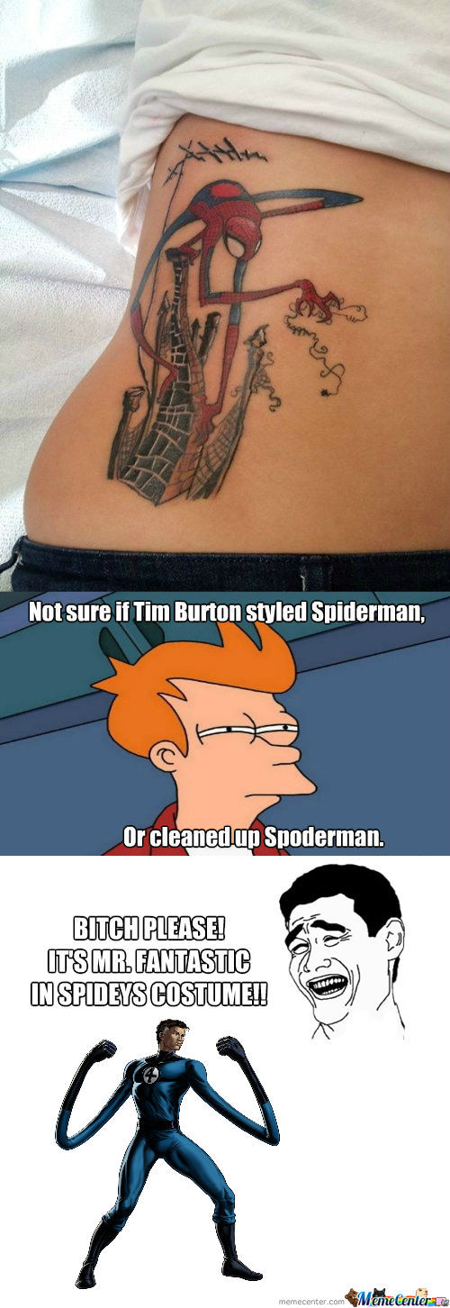 [RMX] Spidey Tattoo
