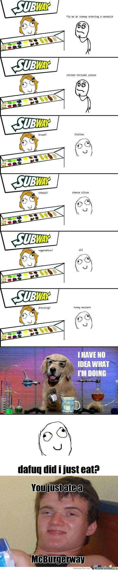 [RMX] Srsly, Every Time At Subway.