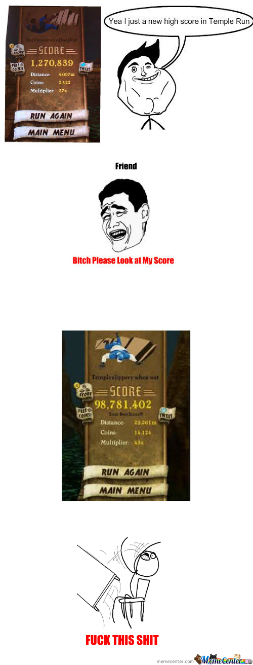 [RMX] Temple Run High Score