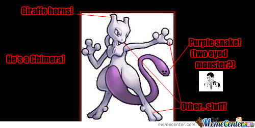 [RMX] That moment when you realize that mewtwo doesn't have a tail