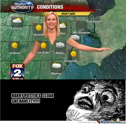 [RMX] That Why Meteorologists Can't Wear Green
