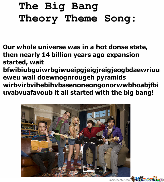 [RMX] The Big Bang Theory Theme Song