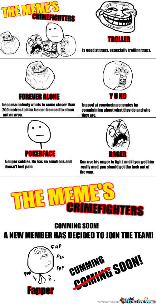[RMX] The Meme's Crimefighters