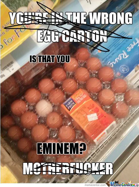 [RMX] The Wrong Egg Carton