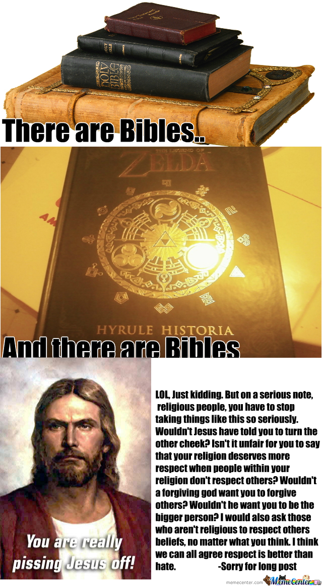 [RMX] There Are Bibles.