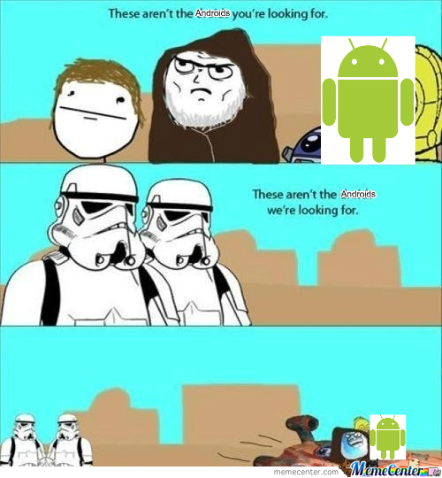 [RMX] These Aren't The Droids