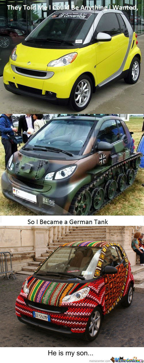 [RMX] They Told Me I Could Be Anything I Wanted, So I Became A German Tank