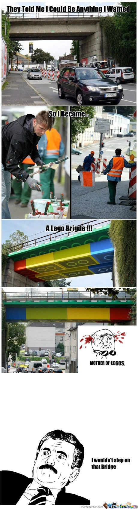 [RMX] They Told Me I Could Be Anything I Wanted, So I Became A Lego Bridge