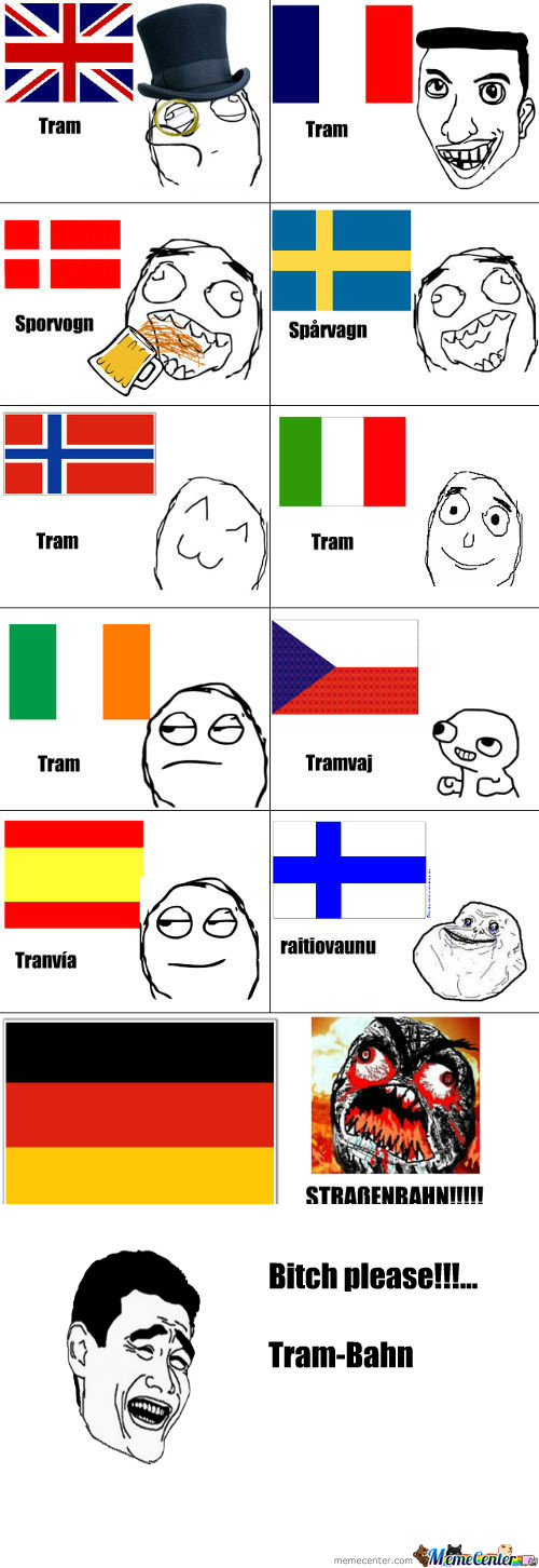 [RMX] Tram In Different Languages
