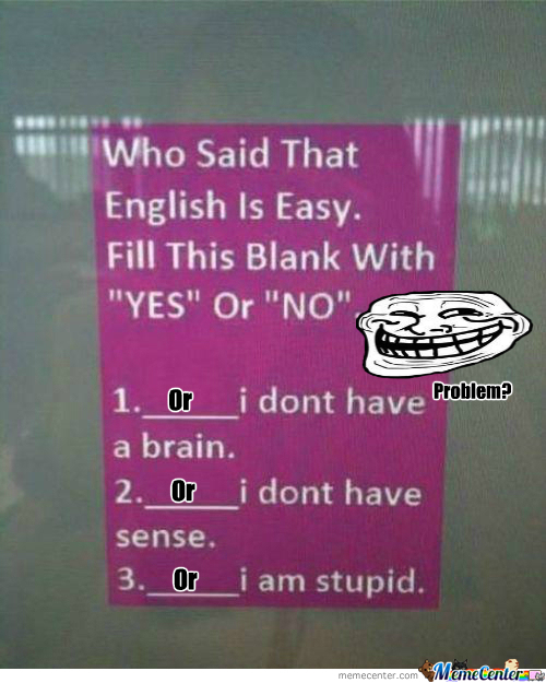 [RMX] Trolled English..likeaboss