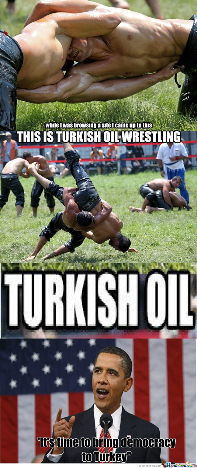 [RMX] Turkish Oil Wrestling