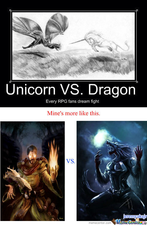 [RMX] Unicorn Vs. Dragon