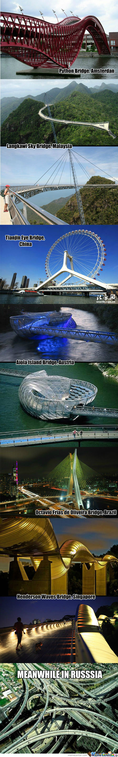 [RMX] Unusual Bridges From Around The World