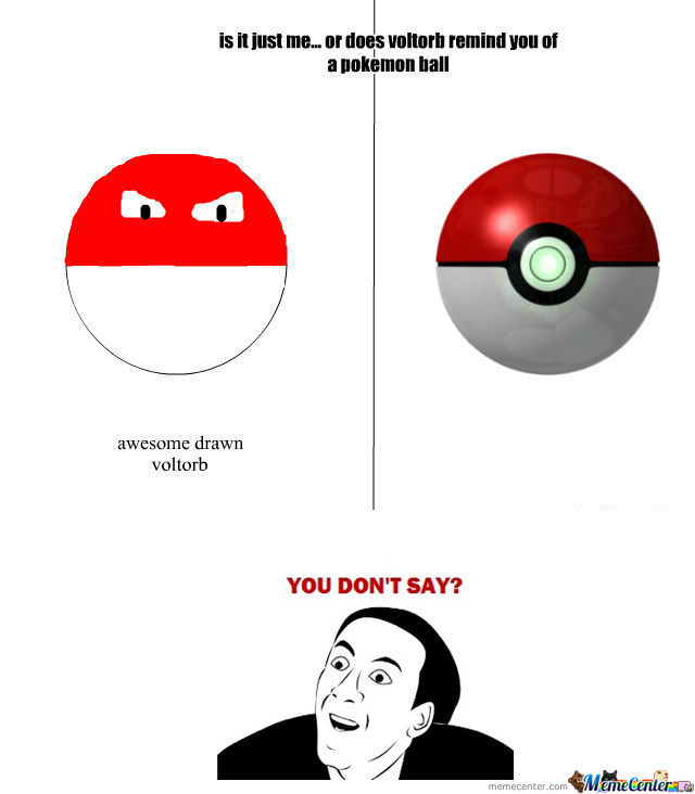 Rmx Voltorb And Pokemon Ball