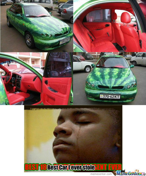 [RMX] Watermelon Car