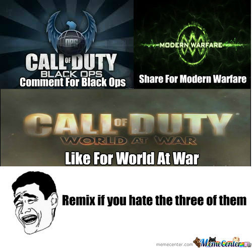 [RMX] What Cod Series Is The Best?