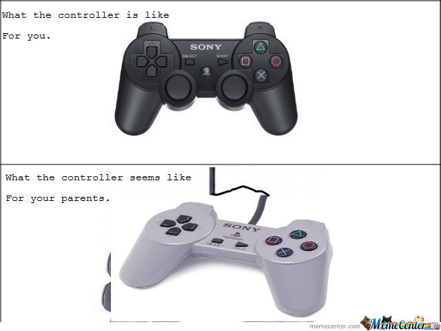 [RMX] What The Controller Is Like For You & For Your Parents