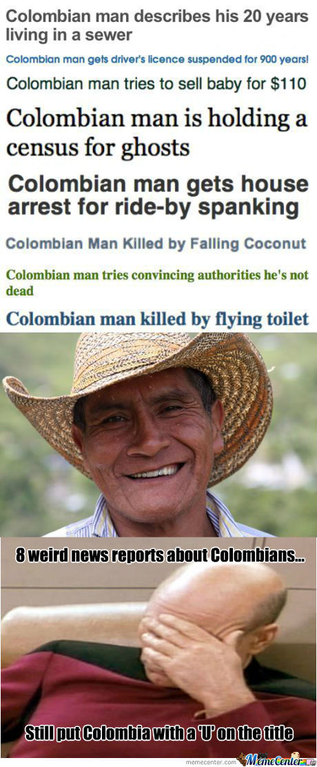 [RMX] Whats Up With Columbian Men?