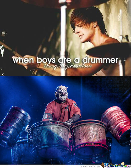 [RMX] When boys are a drummer