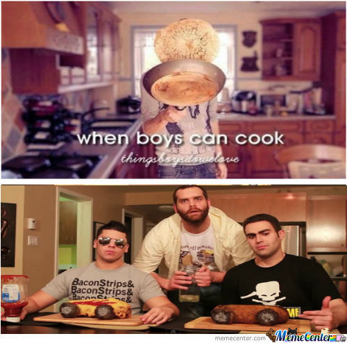 [RMX] When boys can cook
