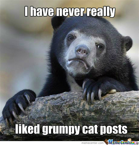 [RMX] Whenever I See Grumpy Cat Posts...