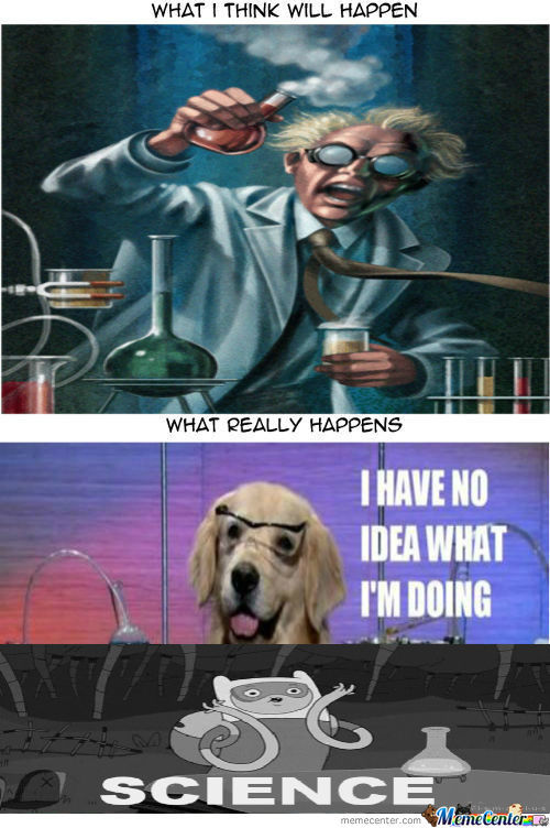 [RMX] Whenever We Have Experiments In School