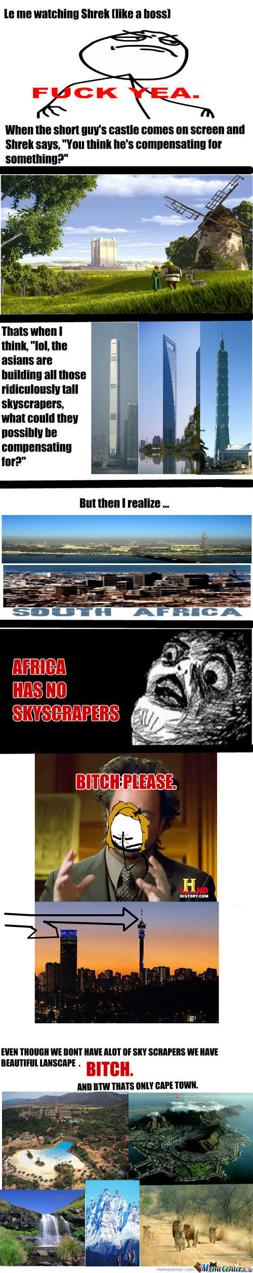 [RMX] Why Africa Has No Skyscrapers (Besides How They're Poor As Shit)