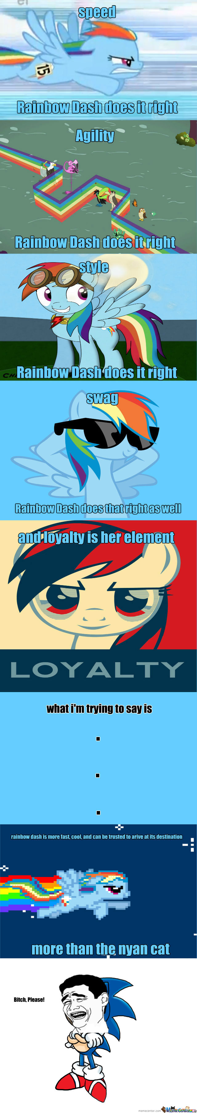 [RMX] Why Rainbow Dash Is The New Nyan Cat